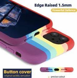 Silicon Apple iPhones iPhone  Rainbow Back Case