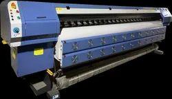 C8 Large Format Solvent Flex Printing Machine