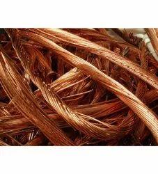 99.99% Brown Copper Wire Scrap, Grade: AA