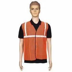 Orange Net Safety Jackets