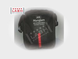 Labh Enterprise Polyester Black Sling Bag for Personal