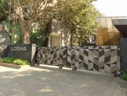 Mild Steel Decorative Entrance Gates