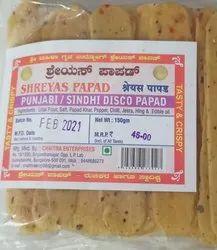 Punjabi Sindhi Disco Masala Papad