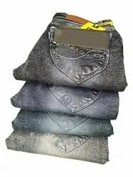 Skinny Button Ladies Casual Wear nitting Jeans
