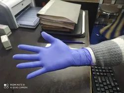 Green Nylon Nitrile Hand Gloves, Size: Medium, Model Name/Number: p01