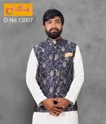 Outlook Vol 13 Festive Wear Jacket Mens Wear Catalog Collection