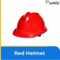 Red Safety Hemlet