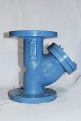 CI Y Type Flanged Strainer