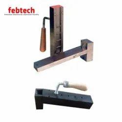 Mild Steel K Mould, Capacity: 10-20 ton/day