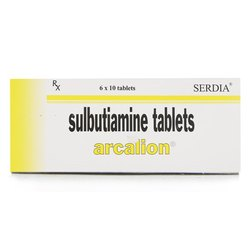 Arcalion Tablet (Sulbutiamine)