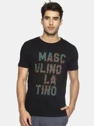 Men Round Neck T Shirt