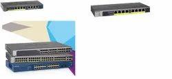 8 Port Gigabit Ethernet Unmanaged Switch with 4-Port PoE