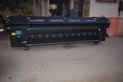 8 Head Digital Solvent Printing Machine