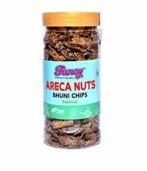 Natural Fancy Areca Nuts Roasted Chips Belel Nuts, Packaging Type: Plastick Bottle, Packaging Size: 150gm