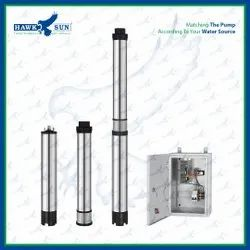 3 2HP DC CI Solar Submersible Pump Set With Controller