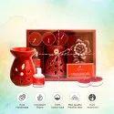 AuraDecor Aromatherapy Gift Set with Floating Candles