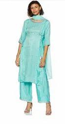 Cotton Casual Wear Designer Ladies Suit