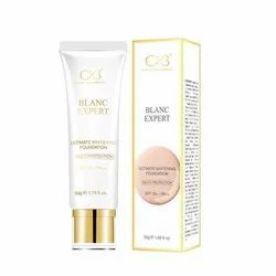 Cvb C56 Whitening Multi-protection Spf 30+/pa++ Sun Protection Foundation, Shade 04, 50g