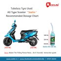 Anti Puncture Tyre sealant for Scooty
