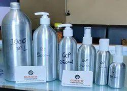 Aluminium Bottle For Cosmetics