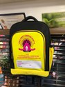 Big Code Matte Printed School Backpack