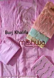 Fancy Cotton Suits With Pure Dupatta