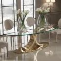Brass Dining Table Base