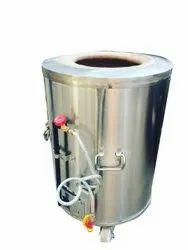 Round Stainless Steel Gas Tandoor