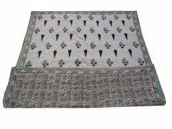 Floral HadBlock Cotton quilt