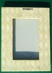 boan Beige Wooden Designer Photo Frame, For Gift, Size: 6 X 8 Inch