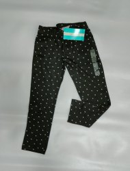 Printed Black girls trouser kids