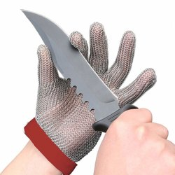 Chain Mesh Safety Hand Gloves