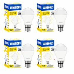 Round 9w Luminous Led Bulb