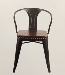 Moulded Cafeteria Chair - Tolex Vintage