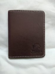 Bi Fold Brown Western Leather Men Wallet, For Id Card