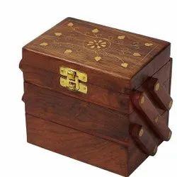 Rectangle Polished Craftatoz Wooden Box