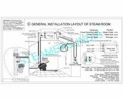 Steam Bath Sauna Bath Jacuzzi And Chill Shower Installations