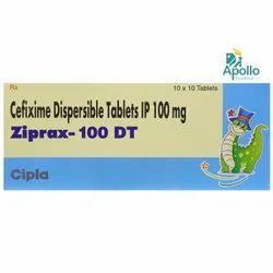 Ziprax DT Tablet (Cefixime)