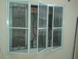 UPVC Mosquito Net Window