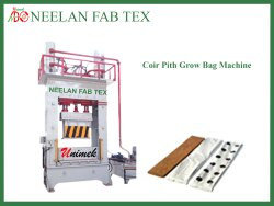 Coco Peat Grow Bag Slab Making Machine