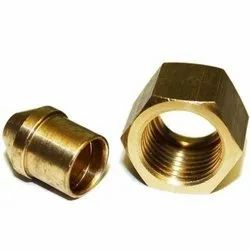 Female Copper Nickel Nipple, For Gas Pipe, Elbow