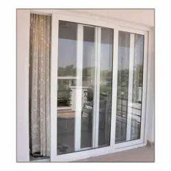 3 Track UPVC Door, For Home, Exterior