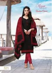 Mayur Bandhani Vol 10 Cotton Printed Dress