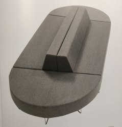 Office Designer Sofa - Opal