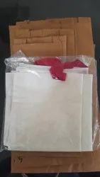 Handled Organic Cotton Bags, Capacity: 2Kg