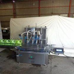SS Edible Oil Filling Machine