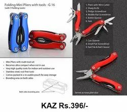 Folding Mini Pliers With Tools