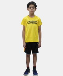 Fino Polyester Kids T-Shirt, Size: 5-7 Years