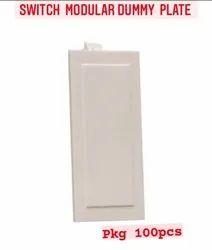 Hi-PLASST Plastic Dummy Plate, Module Size: 1 MODULE