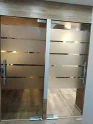 15 MM Office Toughened Glass, Shape: Flat